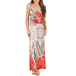 Indulgence - Red maxi dress