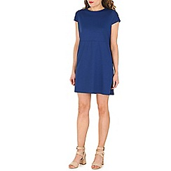 Indulgence - Blue skater dress