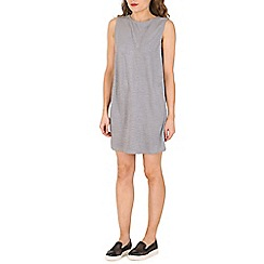 Oeuvre - Grey velour shift dress