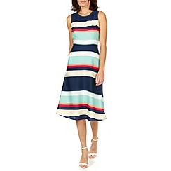 Sugarhill Boutique - Multicoloured liza summer stripe dress
