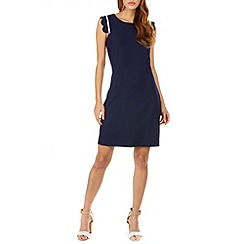 Sugarhill Boutique - Navy kristy scallop detail tunic dress