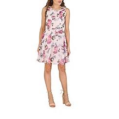 Mela - Rose rose print dress