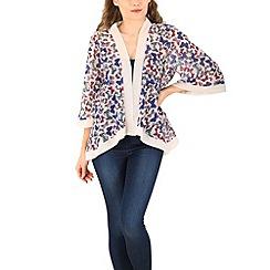 Mela - White butterfly kimono
