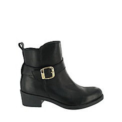 Marta Jonsson - Black buckle ankle boot