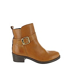 Marta Jonsson - Brown buckle ankle boot