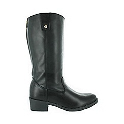 Marta Jonsson - Black mid calf boot