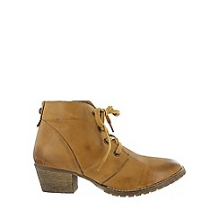 Marta Jonsson - Brown lace up ankle boot