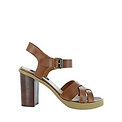 Marta Jonsson - Brown cross strap sandal