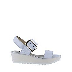 Marta Jonsson - White wedge sandals