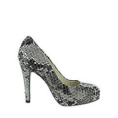 Marta Jonsson - Grey snake effect court shoe
