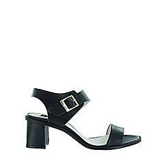 Marta Jonsson - Black strappy block heels sandals