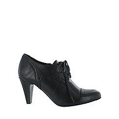 Marta Jonsson - Black high heeled lace up shoe