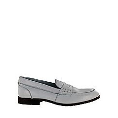 Marta Jonsson - White leather loafer