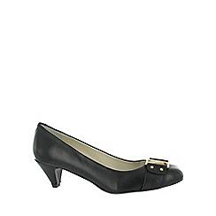 Marta Jonsson - Black leather court shoe