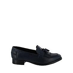Marta Jonsson - Navy tassel loafers