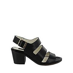 Marta Jonsson - Black strappy block heels sandals