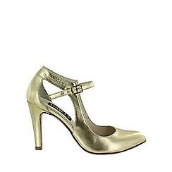 Marta Jonsson - Gold  open court shoe
