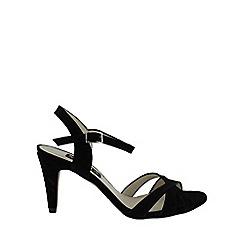 Marta Jonsson - Black suede sandal