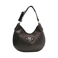 Marta Jonsson - Brown shoulder bag with zipper