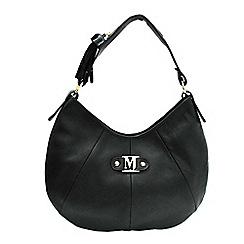 Marta Jonsson - Black shoulder bag with zipper