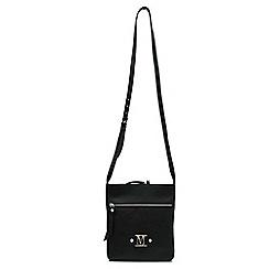 Marta Jonsson - Black cross body bag with zipper