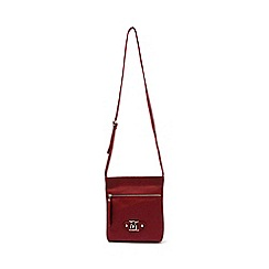 Marta Jonsson - Red cross body bag with zipper