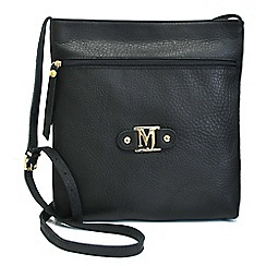 Marta Jonsson - Black cross body bag with zipper