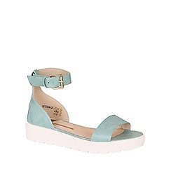 Betsy - Blue chunky flatform sandal
