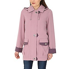 David Barry - Lilac lightweight rain jacket