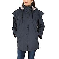 David Barry - Navy waterproof coat