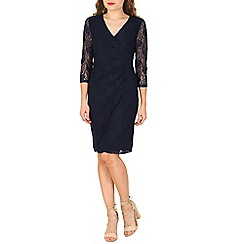 Solo - Navy isabella lace dress