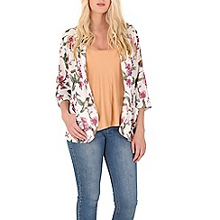 Mela - Multicoloured birds and flower jacket