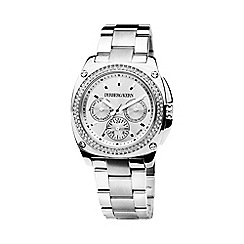 Dyrberg Kern - Silver satine sporty and elegant watch