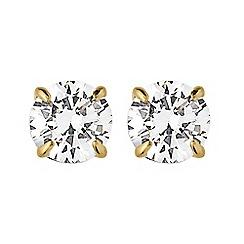Dyrberg Kern - Gold nene stud earings