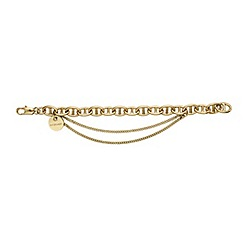 Dyrberg Kern - Gold gallop chain bracelet
