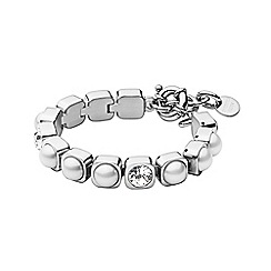 Dyrberg Kern - Silver coco tennis bracelet