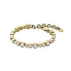 Dyrberg Kern - Gold teresia linked tennis bracelet