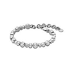 Dyrberg Kern - Silver teresia linked tennis bracelet