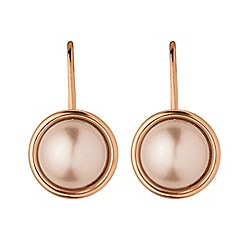 Dyrberg Kern - Light gold lulu french hook earring