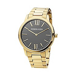 Dyrberg Kern - Gold statement boyfriend watch