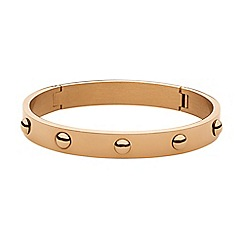 Dyrberg Kern - Light gold dott click on bracelet