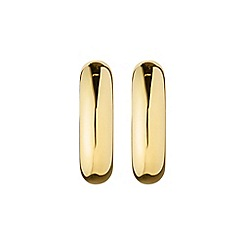 Dyrberg Kern - Gold ellen hoop earrings