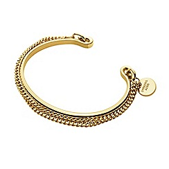 Dyrberg Kern - Gold pano open c-bangle