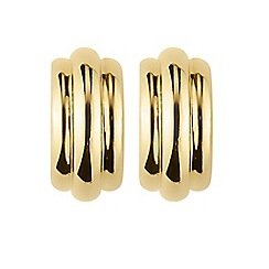 Dyrberg Kern - Gold danuba hoop earrings