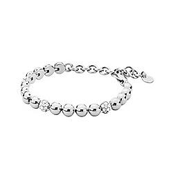 Dyrberg Kern - Silver fontana crystal tennis bracelet
