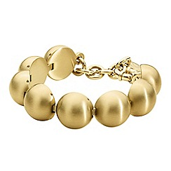 Dyrberg Kern - Light gold amina tennis bracelet