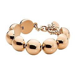 Dyrberg Kern - Gold amina tennis bracelet