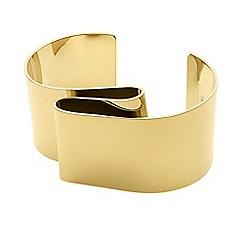Dyrberg Kern - Gold axelle urvacious arm cuff