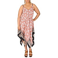 Samya - Pink elephant print dress