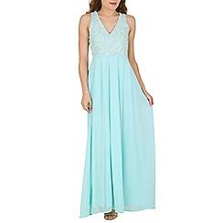 AX Paris - Green floral lace maxi dress